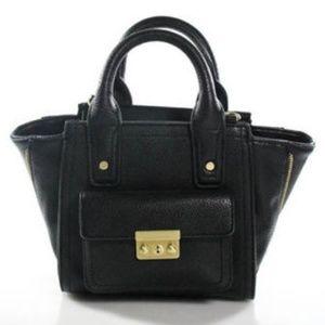 Phillip Lim Small Pashli Black Leather Satchel